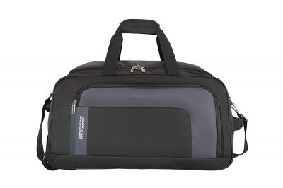 American Tourister Camp Polyester 57 cms Grey Travel Duffle (FR7 (0) 08 001)