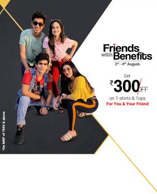 Rs.300 Off on Rs.600 Coupon: Friendship Day Offer