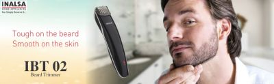 Inalsa IBT 02 Beard Trimmer (Black): Amazon.in: Health & Personal Care