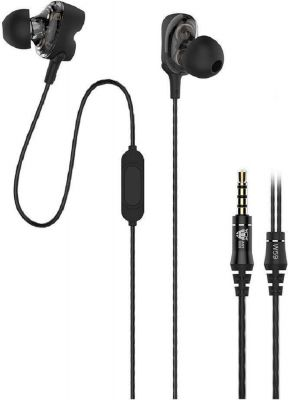 Ant Audio Dual Driver W59 in-Ear Wired Headset with Mic (Black)