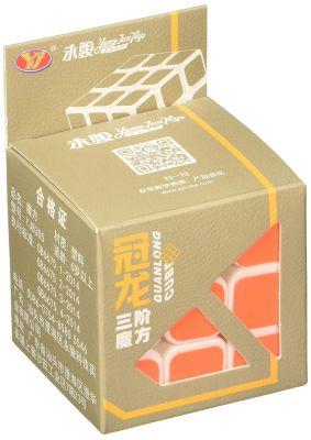 YJ GuanLong 3x3x3 Magic Cube White Base