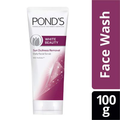 Pond & White Beauty Sun Dullness Removal Daily Facial Scrub 100 g: Amazon.in: Beauty