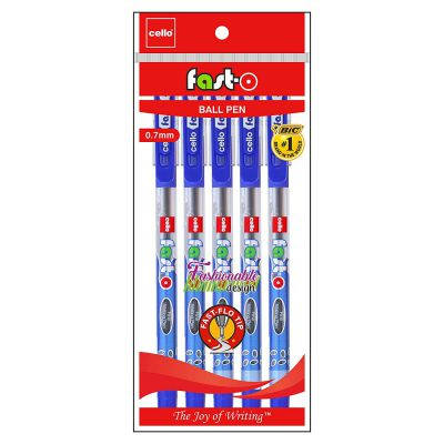 Cello Fast-O Ball Pen - Pack of 100 (Blue): Amazon.in: Office Products