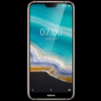 Nokia 7.1 (Gloss Steel, 64 GB, 4 GB RAM)