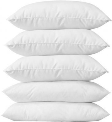 D R Loved For Style Solid Bed/Sleeping Pillow Pack of 5
