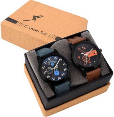 Fancy Set Of Two Combo Couple Watch Special Analog Watch