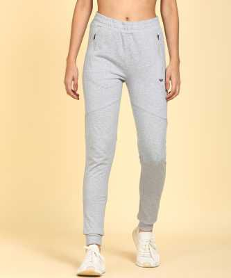 Wildcraft Self Design Women Grey Track Pants
