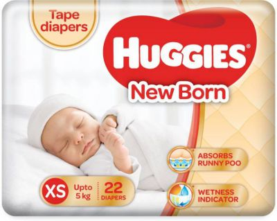 Huggies Ultra soft - XS  (22 Pieces)