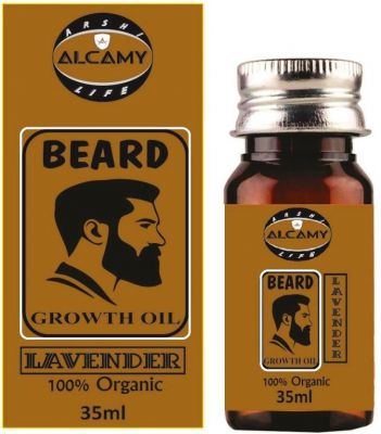 Alcamy Beard Growth Hair Oil ( Lavender ) Hair Oil