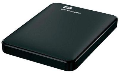 WD Elements 1.5 TB Portable External Hard Drive (Black)