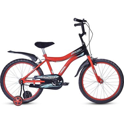 Hero Quicker 20T Steel Single Speed Junior Cycle, 12 Inch (Red)