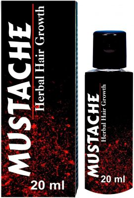 Alcamy Mustache Growth  Hair Oil