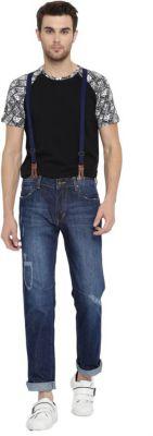 Kook N Keech Slim Men Blue Jeans