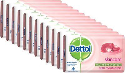 Dettol Bathing Bar Soap, Skincare  (1500 g, Pack of 12)