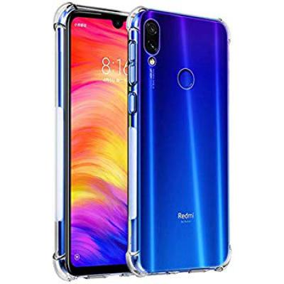 Shock Proof Protective Soft Back Case Cover for Redmi Note 7 & Note 7s & Note 7 Pro