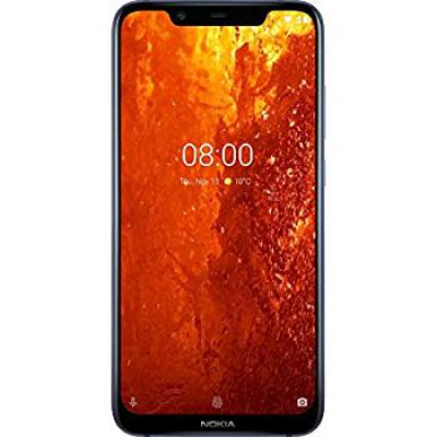 Nokia 8.1 (Blue, 6GB RAM, 128GB Storage)