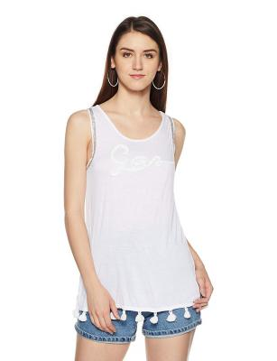 Gas Women's Plain Regular Fit T-Shirt