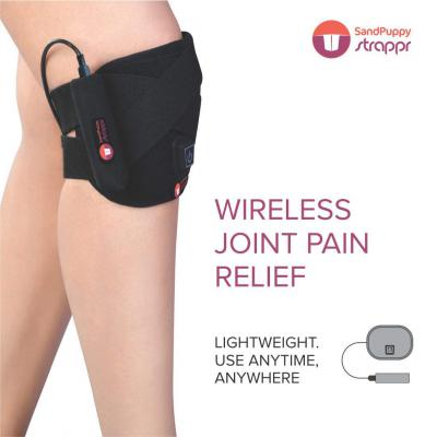 Sandpuppy Strappr AWFG003 Portable & Wireless Heating Pad For Knee, Elbow, Neck and Ankle Joints Pain