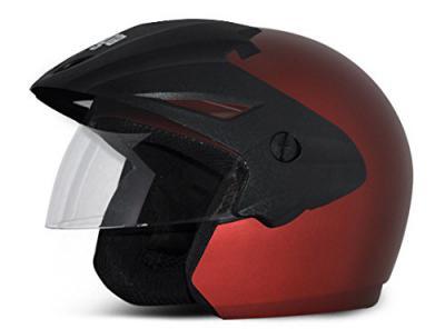 Vega Cruiser Open Face Helmet with Peak