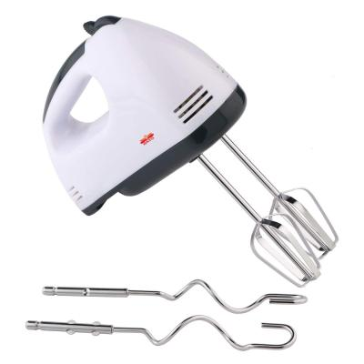 BMS Lifestyle Electric Hand Mixer with Stainless Steel Attachments, 7 -Speed, Includes; Beaters, Dough Hooks