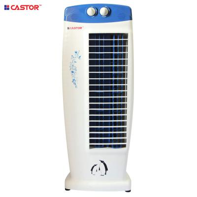 Castor Cool Breeze Tower Fan with 25 Feet Air Delivery, 4-Way Air Flow, High Speed, Anti Rust Body