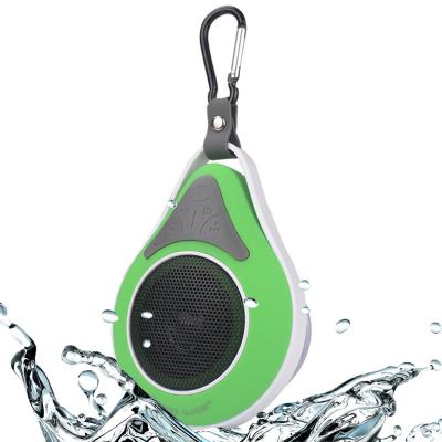 SJSW Waterproof Bluetooth Speaker for Outdoor Sports Running Drop Scale with Hanger and Dedicated Suction Cup