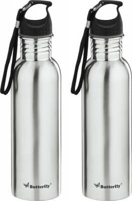 Butterfly ECO SS WATER BOTTLE 750 ML-2 PCS SET (STAINLESS STEEL) 750 ml Bottle