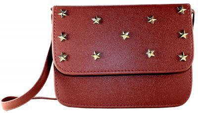 Fargo Focus PU Leather Women's And Girl's Sling Bag (Tan_FGO-204)