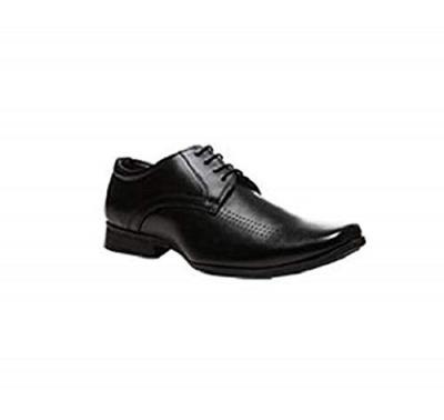 BATA Men's Leo Black Formal Shoes