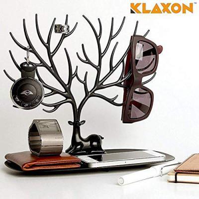 KLAXON G0211IT0121 Plastic Deer Tree Jewellery Rack Organizer Display Stand