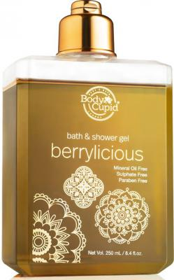 BodyCupid Berrylicious Shower Gel-The Limited Golden Edition-250mL  (250 ml)