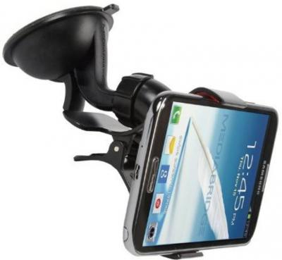 Mediabridge Car Mobile Holder for Windshield, Dashboard  (Black)