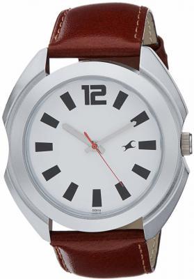 Fastrack  NG3117SL01 Bare Basic Analog Watch - For Men
