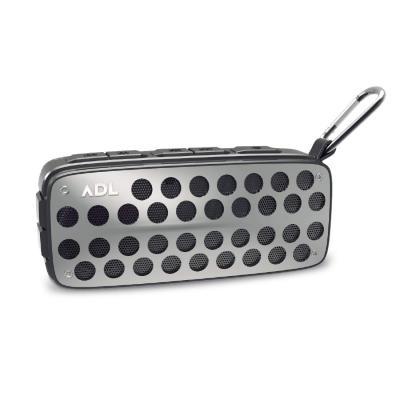 ADL Music Thunder A5 Bluetooth Speaker with FM Radio/TF Card/USB Drive/AUX Input/Built-in Mic (Gun Metal)