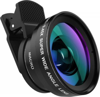 TIZUM Universal Smartphone Lens Pro-Kit 2 in1 Wide Angle and Macro Lens Mobile Phone Lens