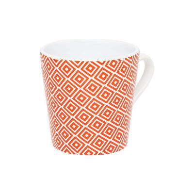 Ivy Round Red Mystic Printed Coffee Mug_Red_Free Size