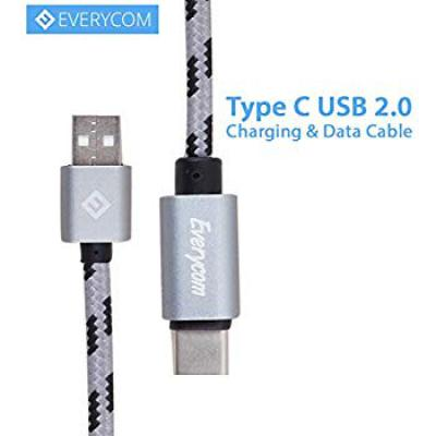 Everycom Fast Charging Mini Cable Rugged Braided Tangle Less Cable