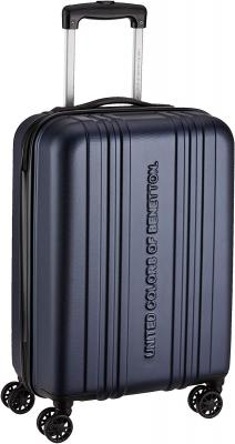 United Colors of Benetton UCB ABS 58 cms Navy Suitcases (0IP6HAB20E02I)