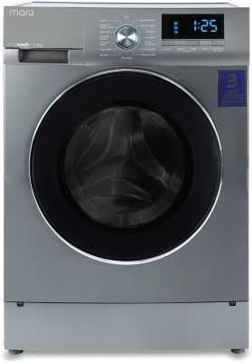 MarQ by Flipkart 7.5 kg Fully Automatic Front Load Washing Machine with In-built Heater Silver  (MQFLBS75)