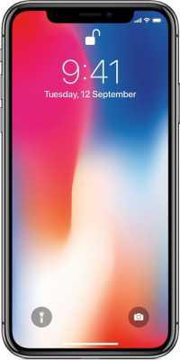 iPhone X (Space Grey, 64GB)