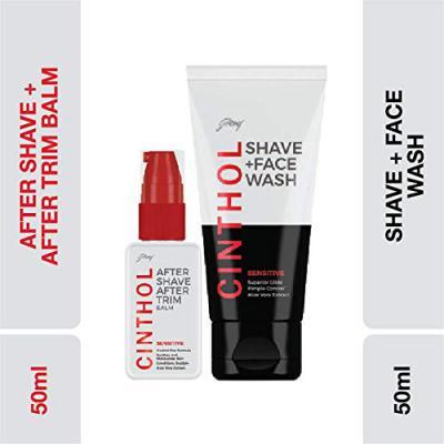 Cinthol Sensitive Shaving Combo, 150ml
