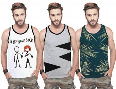 Tripr Men Vest  (Pack of 3)`