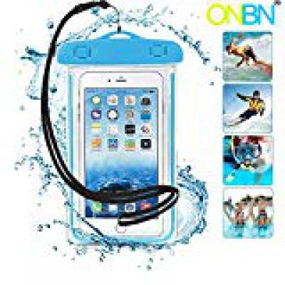 ONBN® Wateproof Mobile Pouch, Case for Underwater, Advance High Touch Sensitive Waterproo Case Cover for Men and Women f