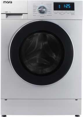 MarQ by Flipkart 7.5 kg Fully Automatic Front Load Washing Machine with In-built Heater White  (MQFLXI75)