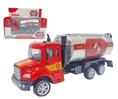 Popsugar Pull Back Fire Service Tank, Red