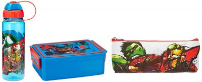 Marvel Avengers Back to School Stationery Combo Set, 699, Multicolor