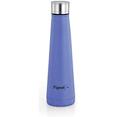 Pigeon Pyramid Stainless Steel Fridge Bottle, 650ml, Blue