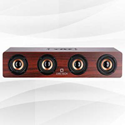 Live Tech Jalsa Wireless Wooden Speaker with Powerful Sound
