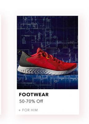 Myntra Season Finale Sale: Footwear 50-70% Off