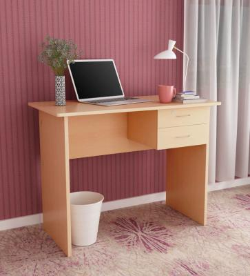 Simply Study & Laptop Table in Honey Colour by HomeTown